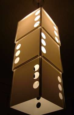 Stacked Dice Lights
