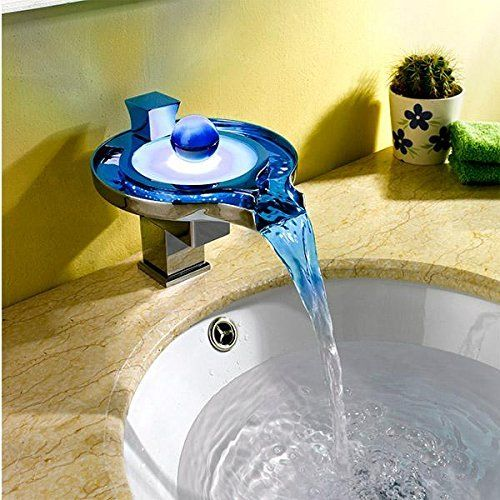 Color-Changing LED Faucets