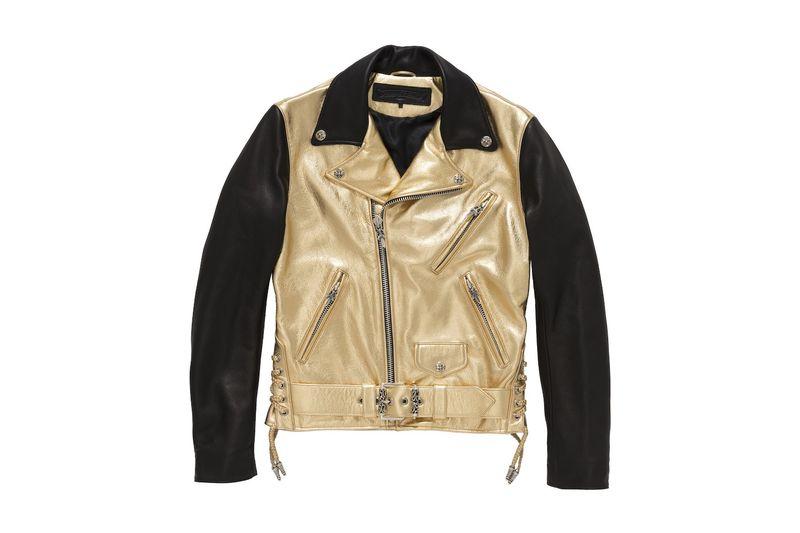 Metallic Biker Jackets