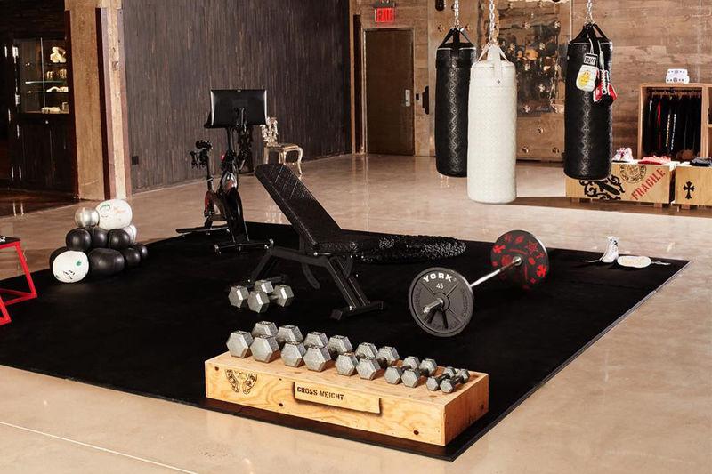 Fashion-Informed Gym Installations
