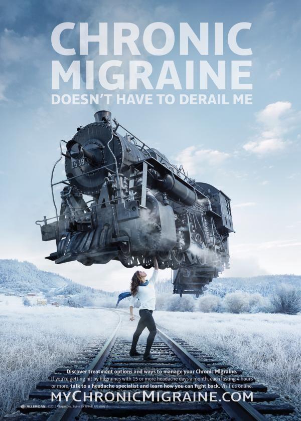 Triumphant Migraine Ads Chronic Migraine