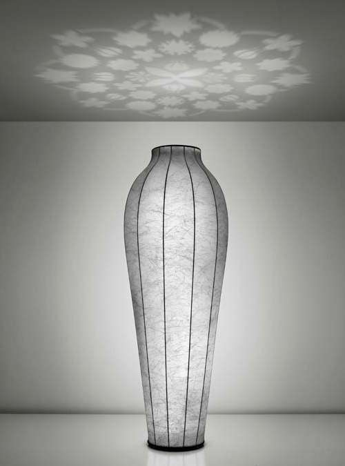 Flower Shadow Lighting Chrysalis Floor Lamp