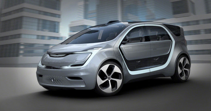 Electric Self-Driving Minivans