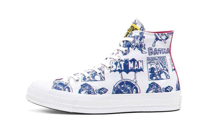 Dark Superhero-Themed Sneakers