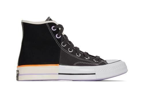 Dual Tonal High-Cut Sneakers