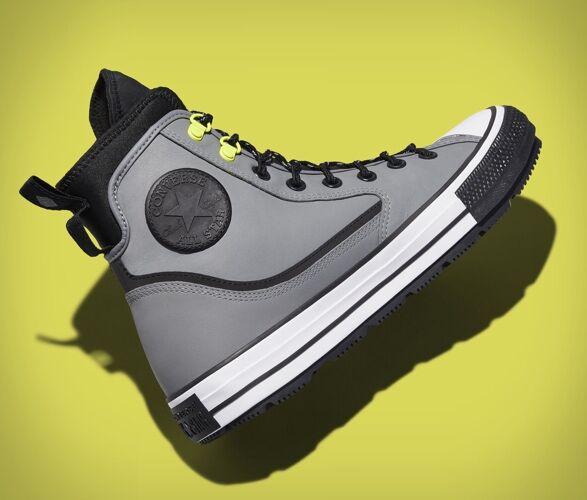 Laid-Back Winterized Footwear