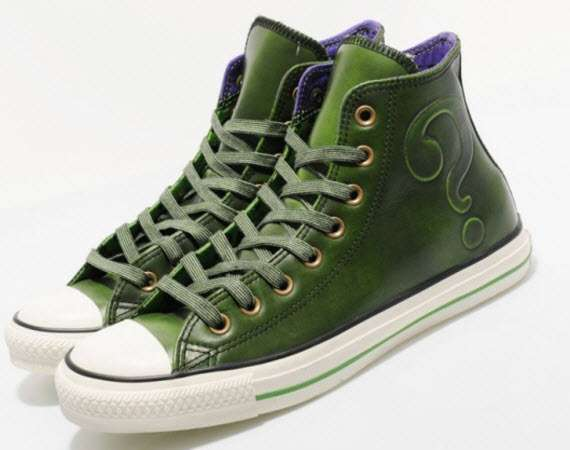 Villainous Green Kicks   Chuck Taylor All Star  The Riddler  4ba238362