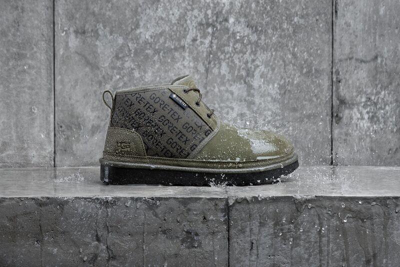 Waterproof Suede Chukka Shoes