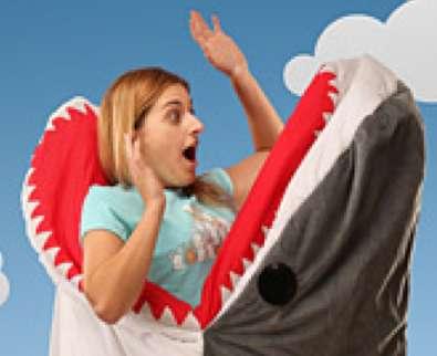 Shark Attack Blankets