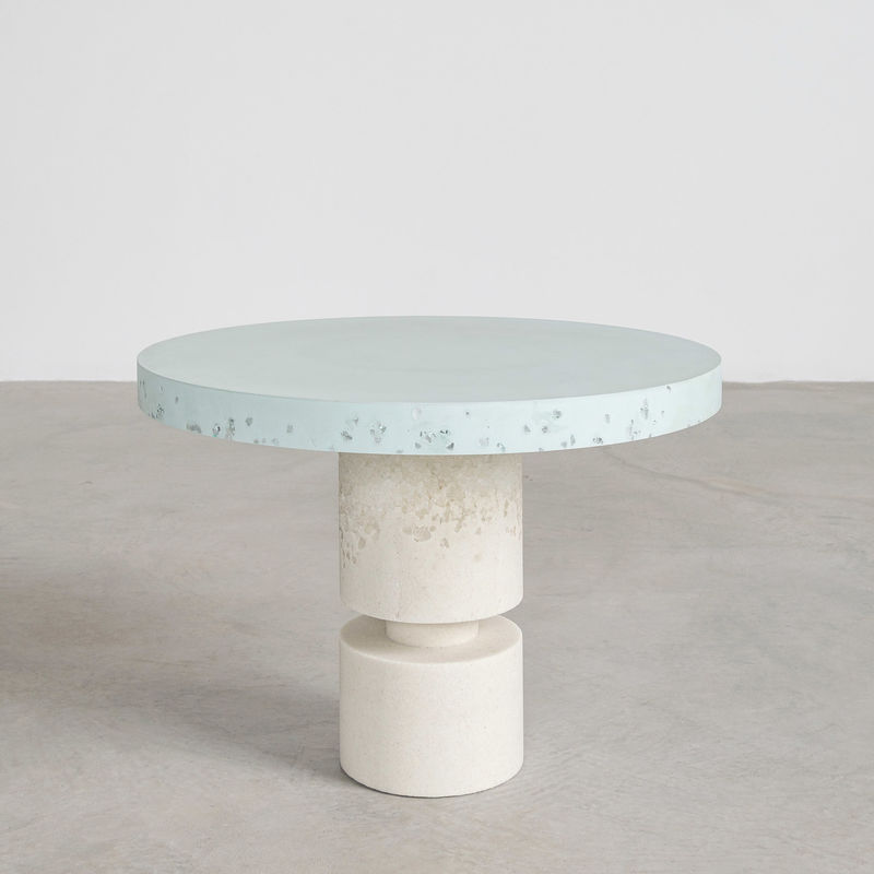 Geometric Sand-Casted Tables