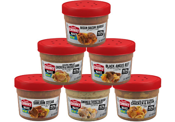 Protein-Packed Microwavable Soups