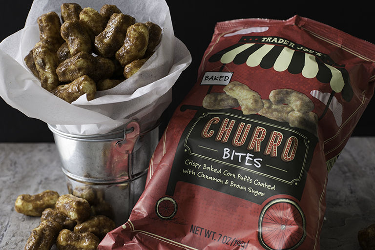 Bite-Sized Churro Snacks