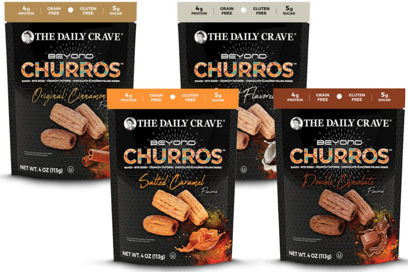 Grain-Free Churro Snacks