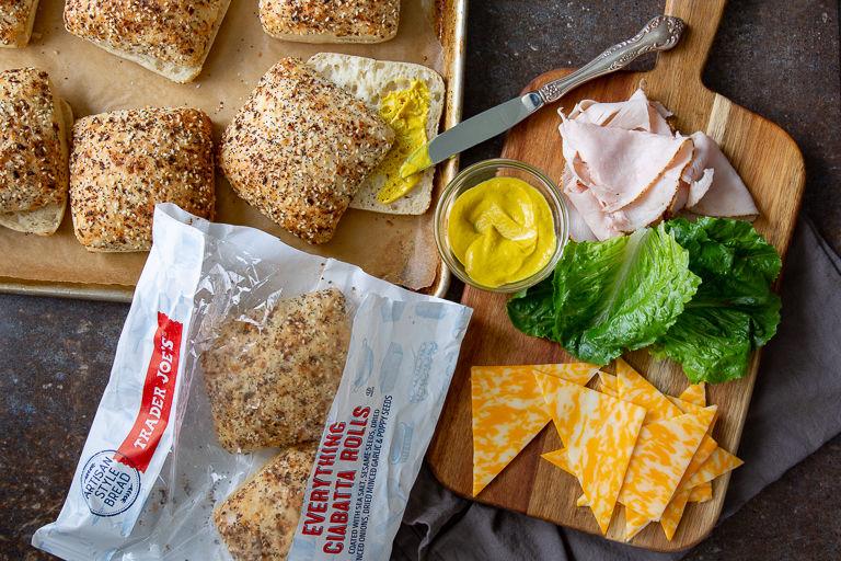 Bagel-Inspired Bread Rolls