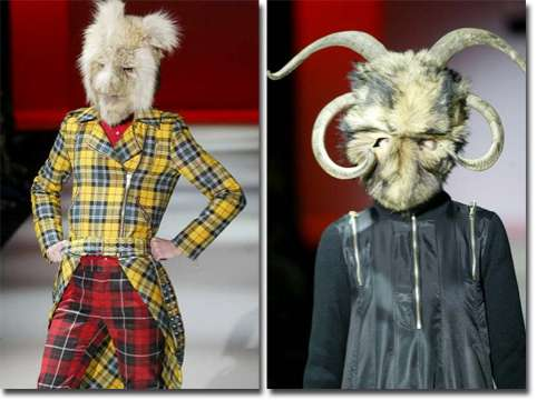 2019 Express Van >> Monster Fashion: Cibeles Runway Full of Models With Bizarre Looks