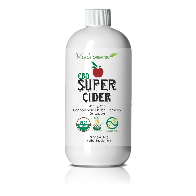 CBD-Infused Cider Elixirs