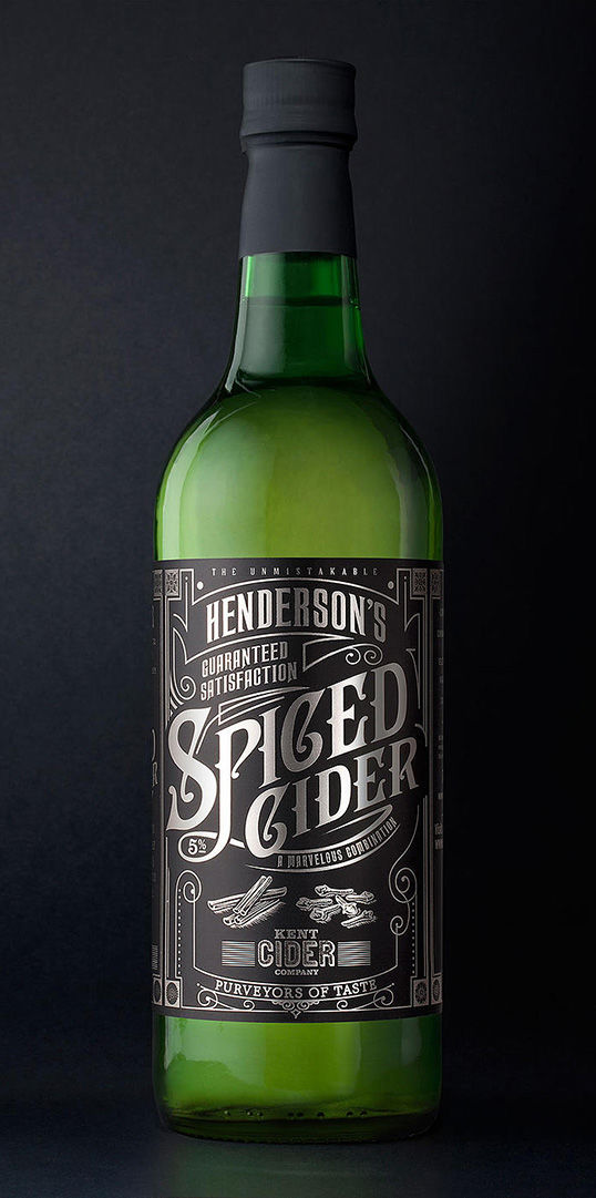 Calligraphy Cider Packaging