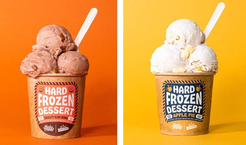 Cider-Spiked Ice Creams