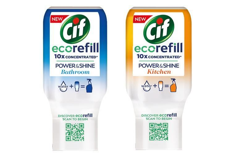 Concentrated Cleaning Product Refills