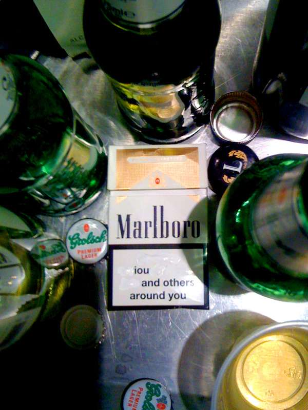 Cigarette Pack Haikus