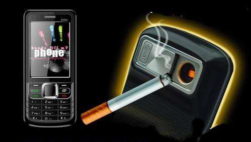 Cigarette-Lighting Mobiles