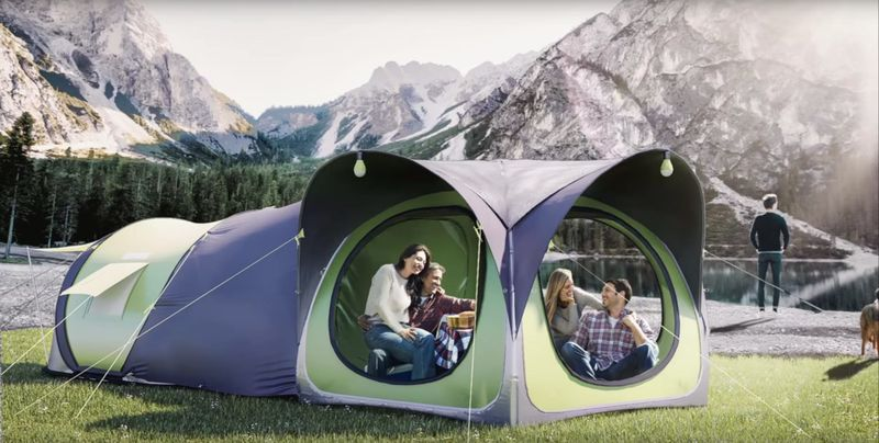 Modular Pop-Up Tents & Modular Pop-Up Tents : Cinch Hub