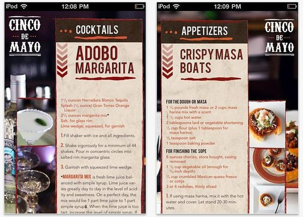 Mexican Cookbook Apps