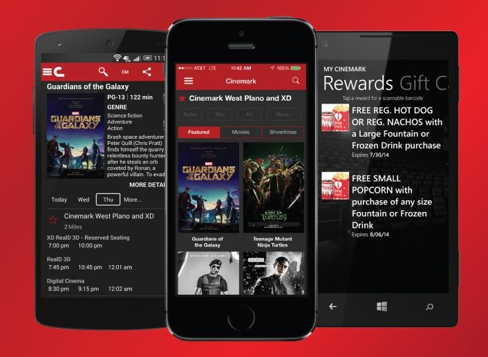 Rewarding Movie Apps
