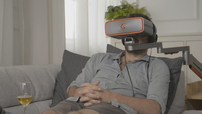 Immersive Widescreen Headsets
