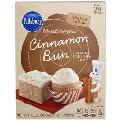 Cinnamon Bun Cake Mixes