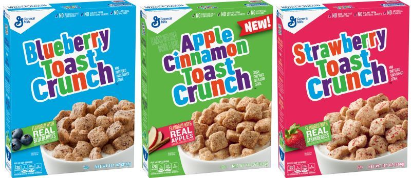 Fruity Cinnamon Breakfast Cereals
