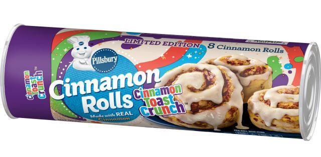 Cereal-Flavored Cinnamon Rolls