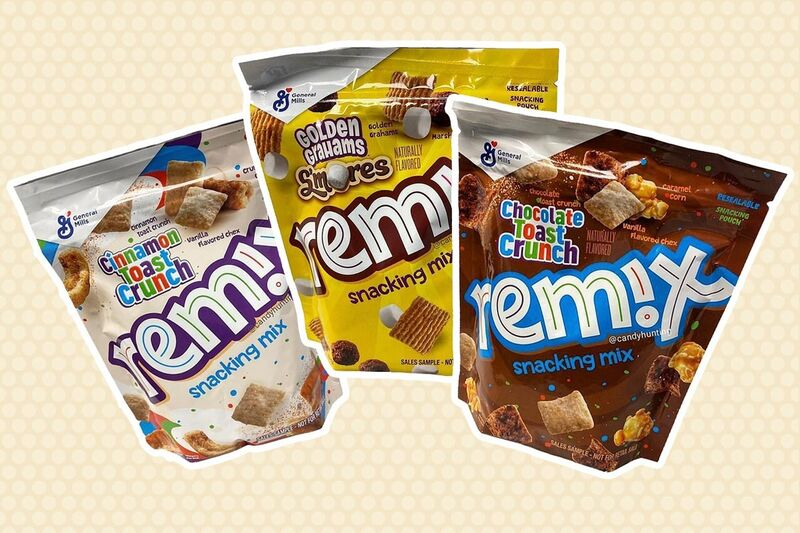 Cinnamon Cereal Snack Mixes