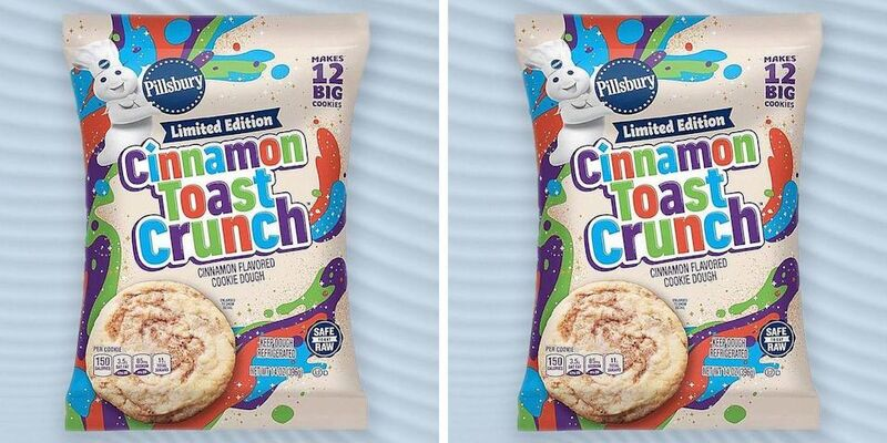 Cereal-Themed Cookie Doughs