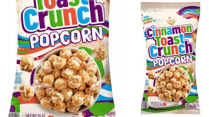 Cereal-Flavored Popcorn Snacks