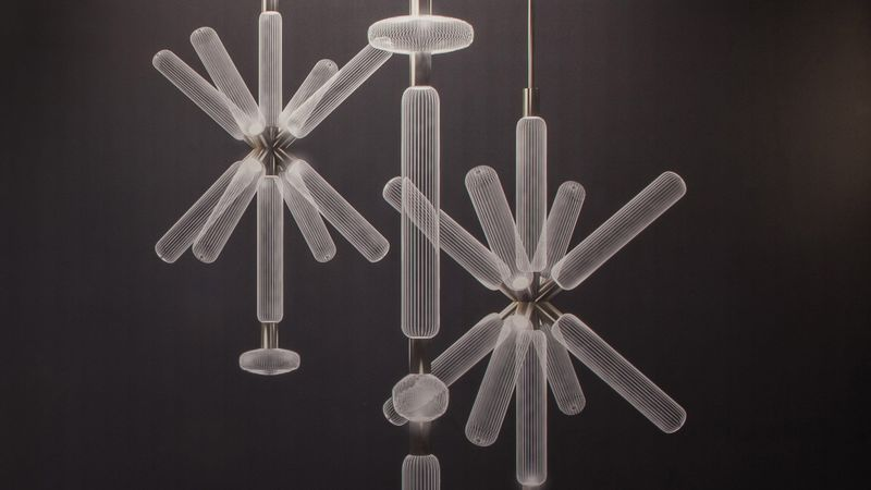 Hand-Blown Crystal Light Fixtures