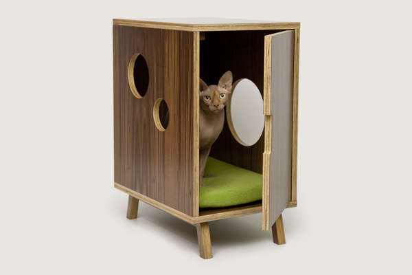 Cat Commode Consoles