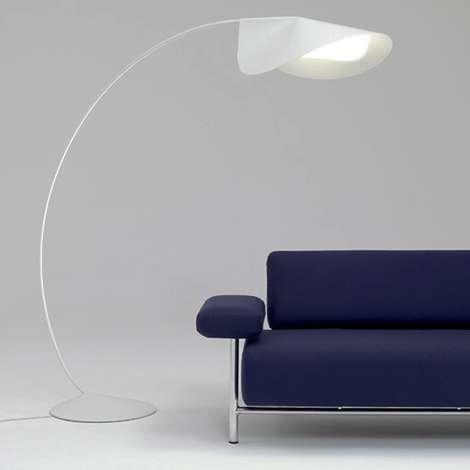 Canopy-Like Lighting : Circle floor lamp