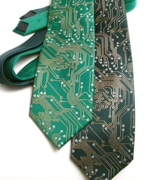 Circuit Board Neckties