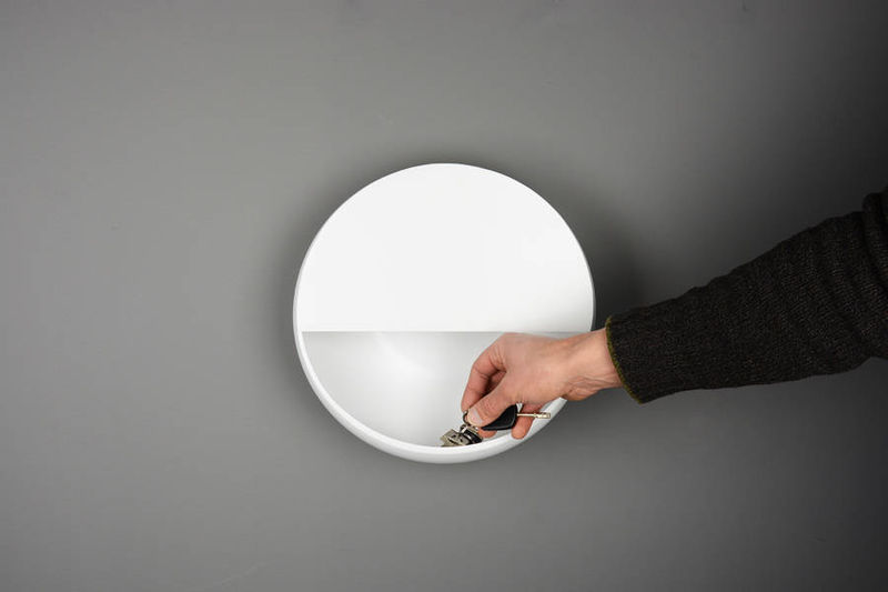 Illuminating Wall Shelves
