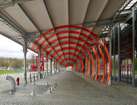 Dizzying Circular Street Art