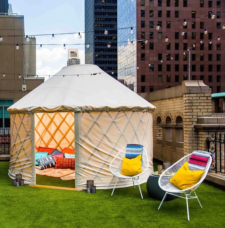 Glamping Yurt Rooftops