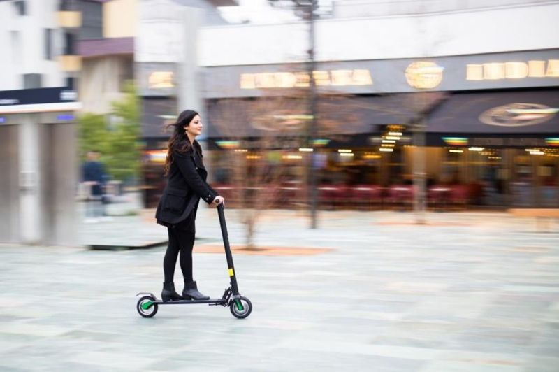 Smartphone-Powered Scooters