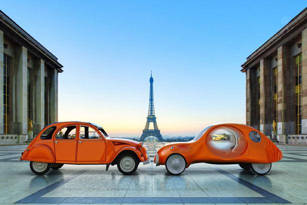 Ultra-Modern Parisian Eco Cars