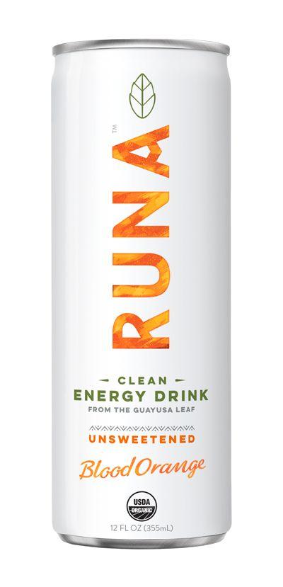 Unsweetened Energy Drinks Citrus Flavor