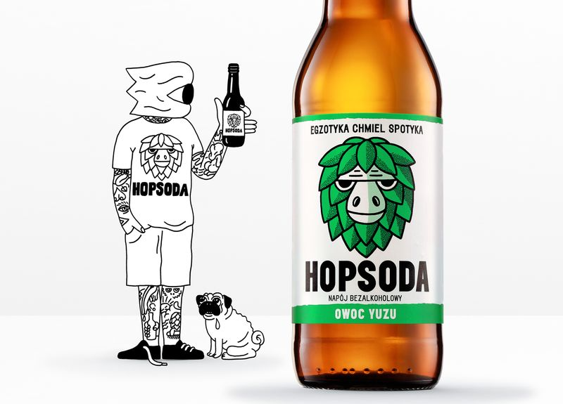 Hoppy Soft Drinks
