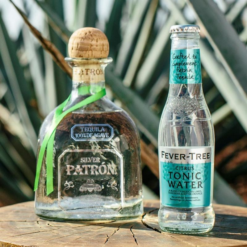 Tequila-Paired Tonic Water