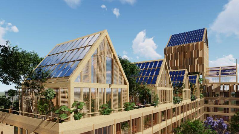 Sustainable Self-Sufficient Neighborhoods