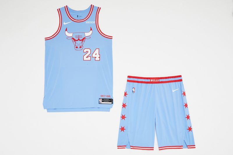 City-Themed Basketball Team Jerseys