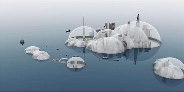 Whimsical Watery Urbanism
